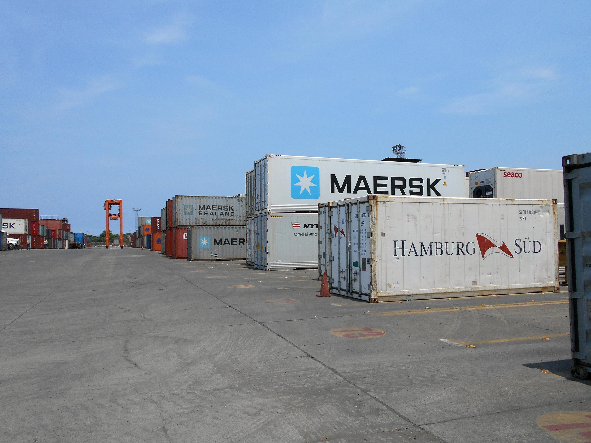 Capacitación e Inspección de contenedores