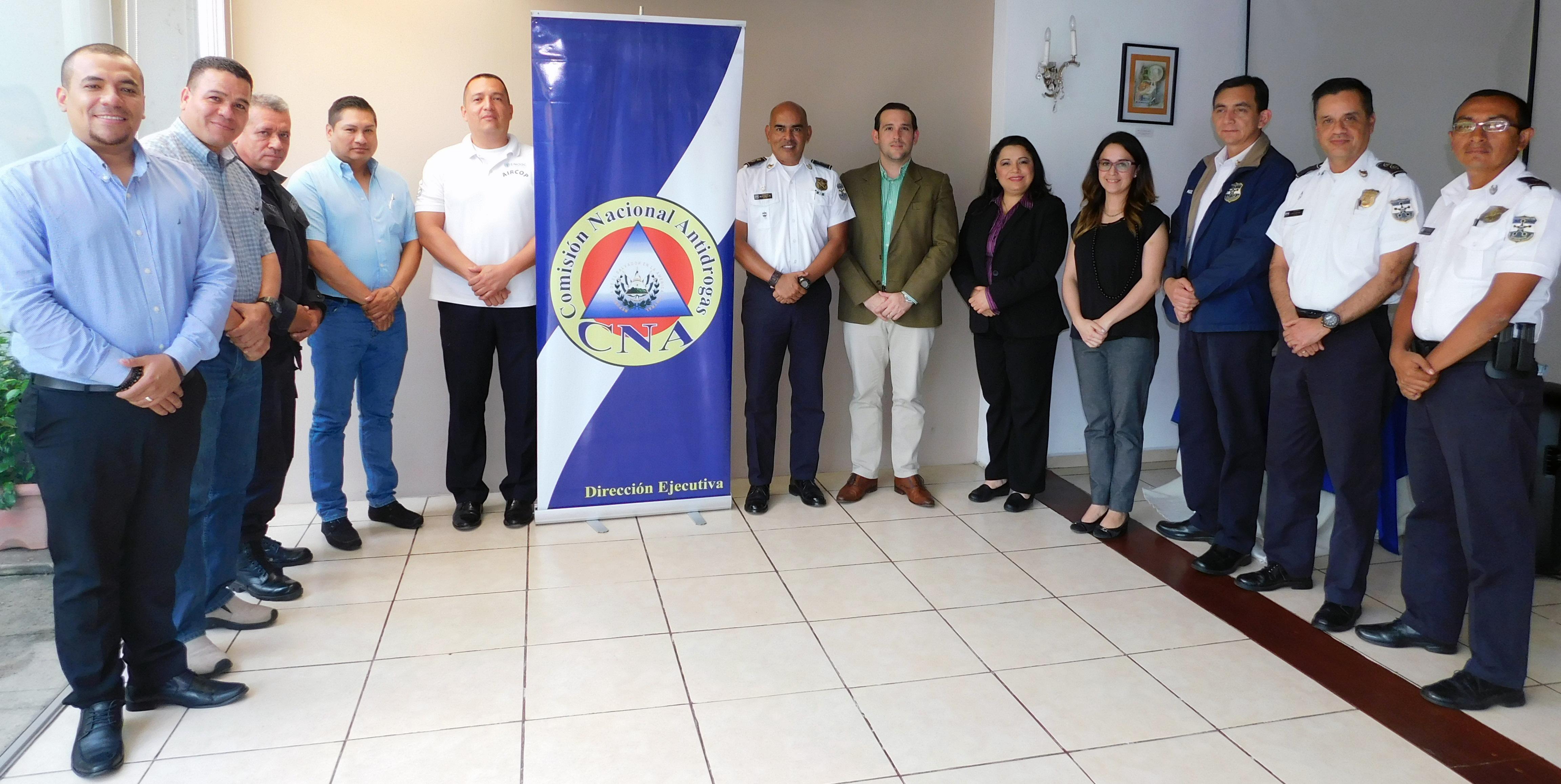 La CNA se reúne con jefes policiales del Proyecto AIRCOP