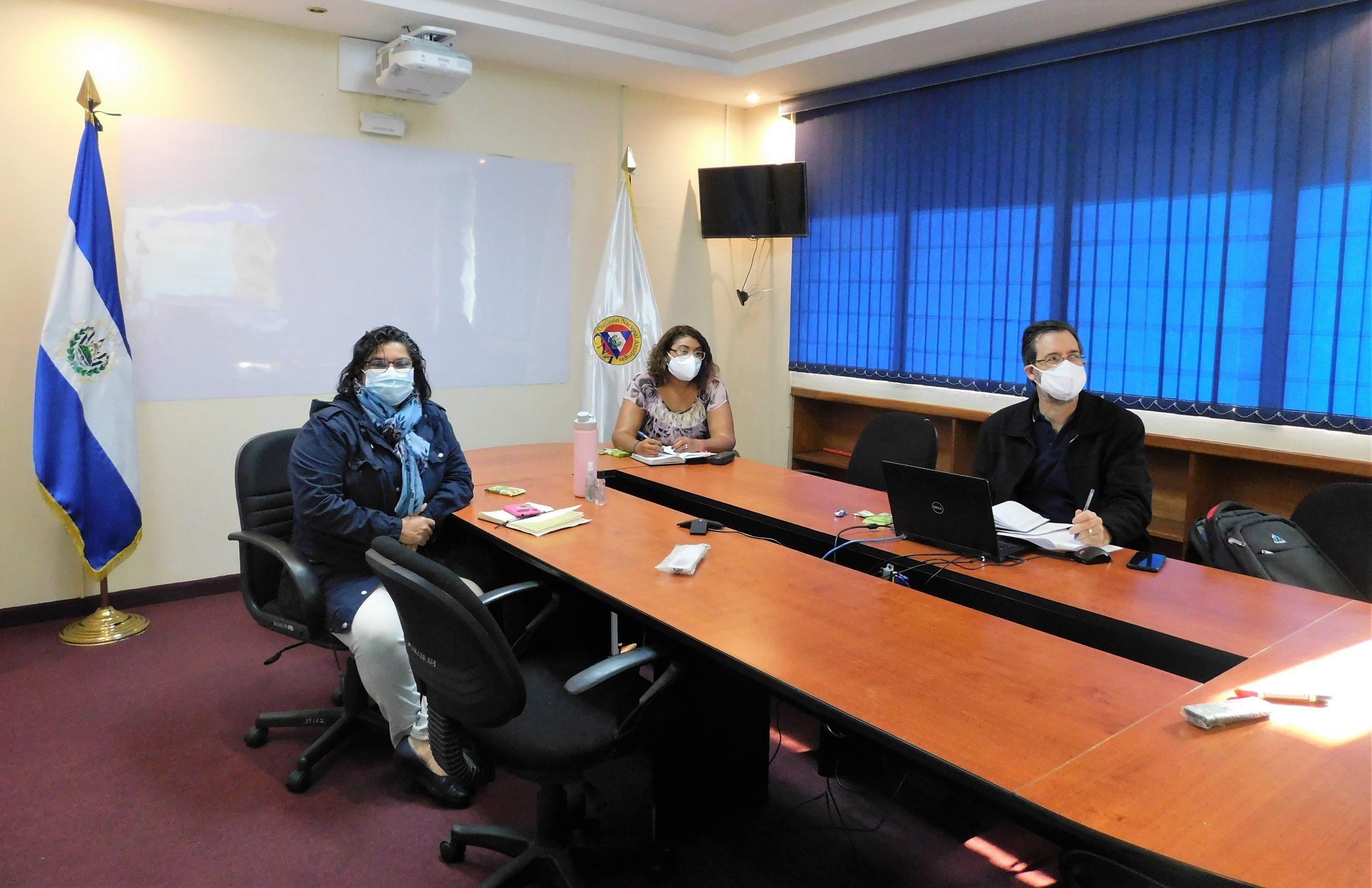 El Salvador participa en entrenamiento de la UNODC-OMS