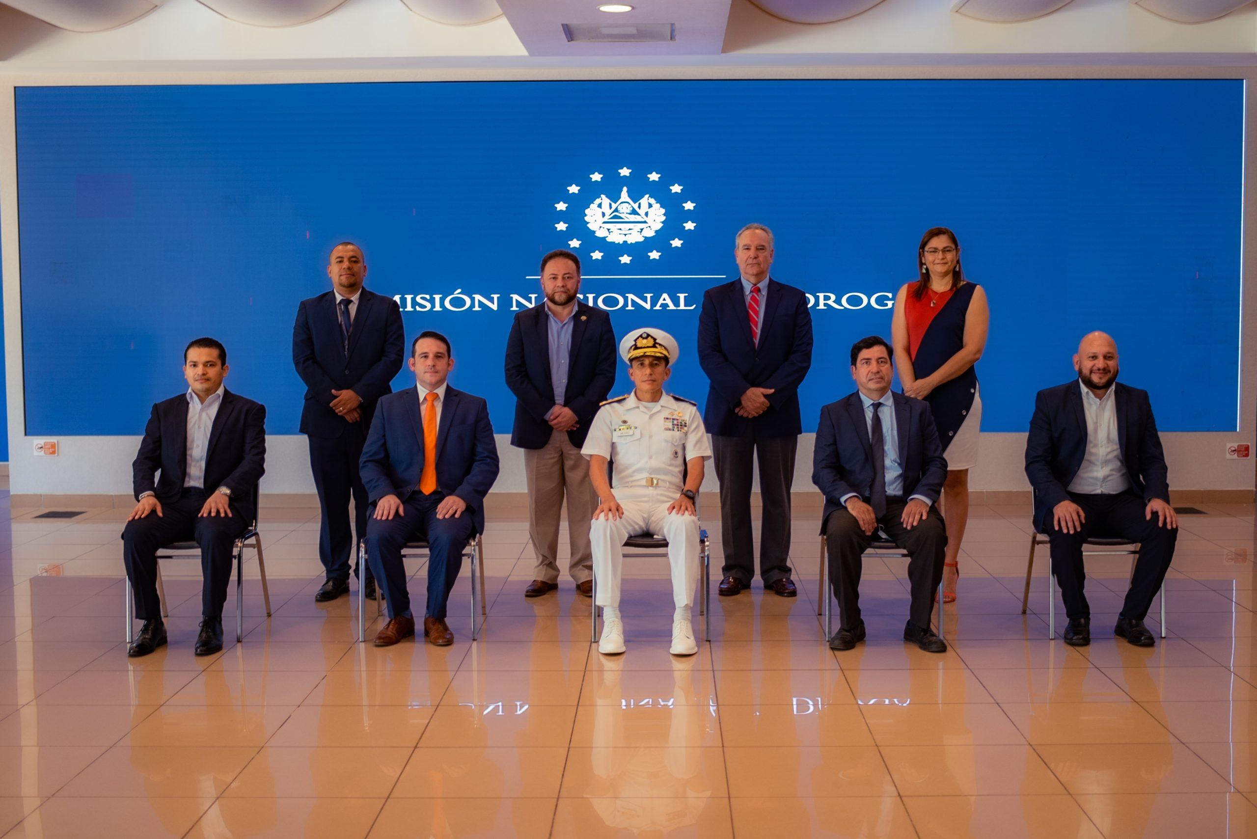La Comisión Nacional Antidrogas realizó reunión de Miembros