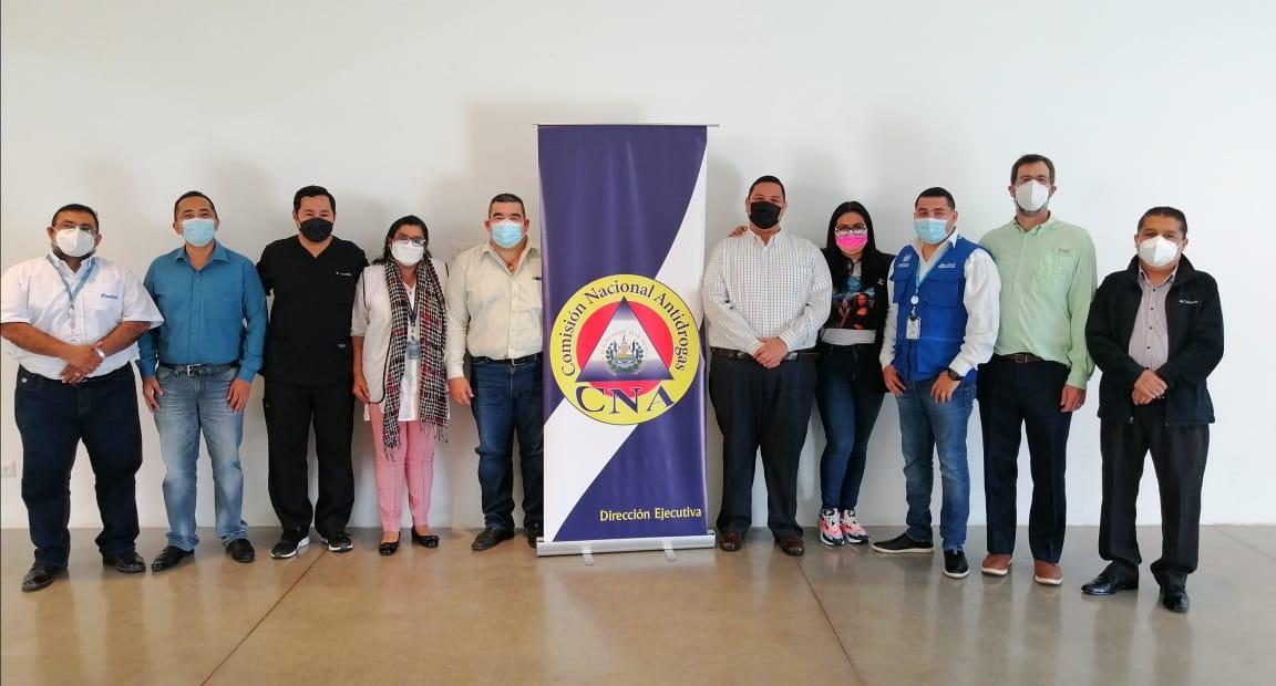 Participación de la CNA en curso de formadores en prevención y tratamiento