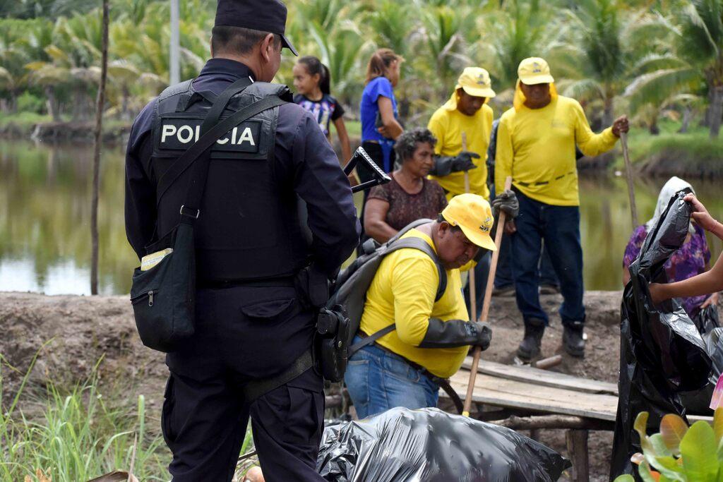 Policía Nacional Civil brindará seguridad a Plan de limpieza de ríos