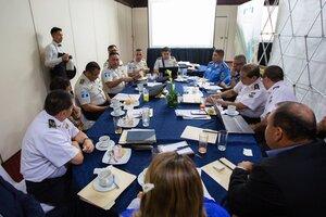 Rogelio Rivas destaca Plan Control Territorial en reunión de ministros de seguridad del triángulo Norte