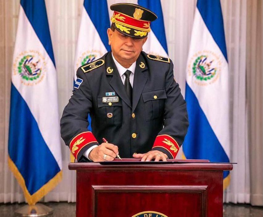 Presidente Nayib Bukele nombra a Comisionado Mauricio Arriaza Chicas como Viceministro de Seguridad Pública