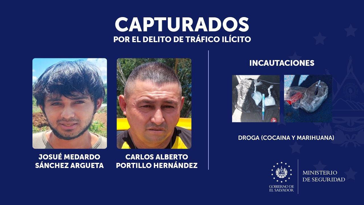 Capturan a pandilleros por tráfico de droga